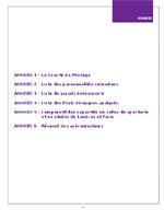 Annexes du rapport au Président de la République